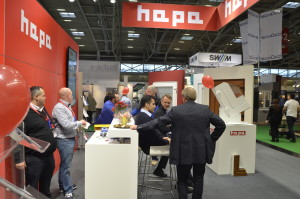 Messestand Hapa Fenster